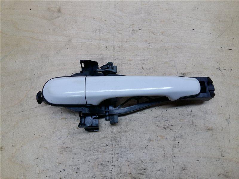 Ручка двери передней наружная правая Jaguar Xf 2014 (б/у)