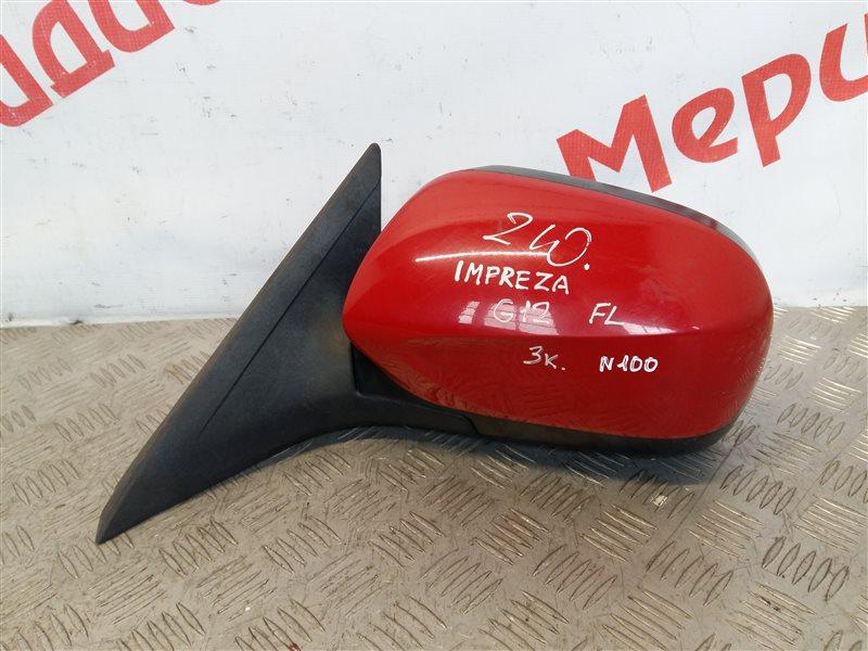Зеркало левое электрическое Subaru Impreza G12 2007 (б/у)