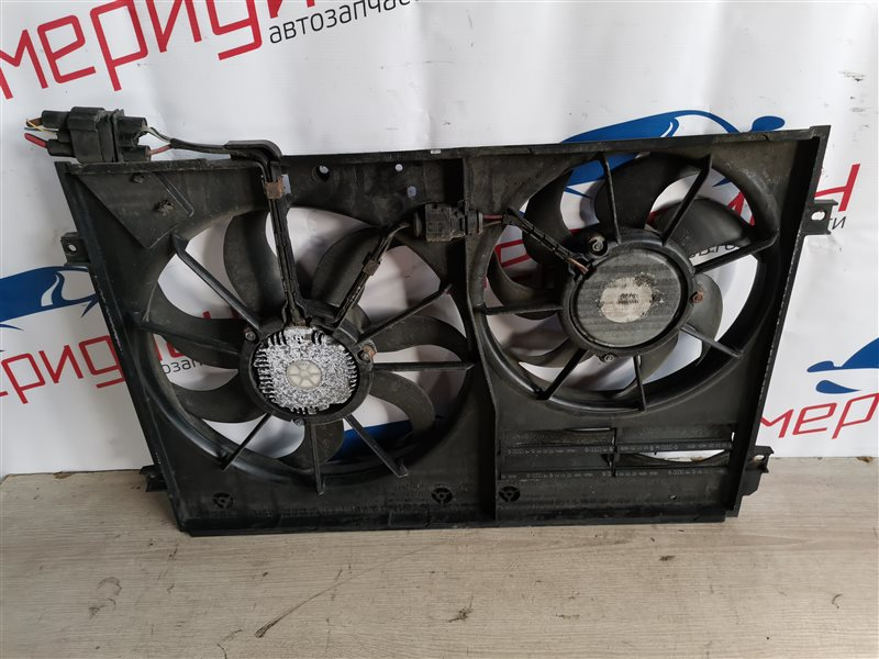 Вентилятор радиатора Skoda Octavia A5 2006 (б/у)