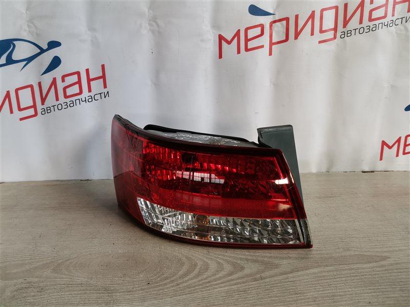 Фонарь задний наружный левый Hyundai Sonata V(NF) 2010 (б/у)