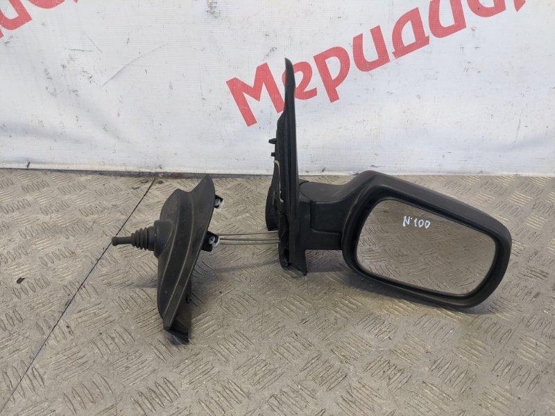 Зеркало правое механическое Ford Fusion I 1.6 2008 (б/у)