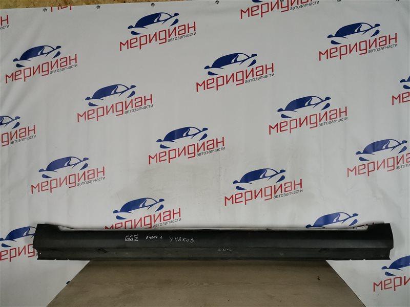 Накладка на порог (наружная) левая Peugeot 4007 2011 (б/у)