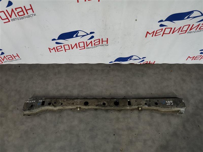 Балка подрадиаторная Nissan Micra K12E 2005 (б/у)