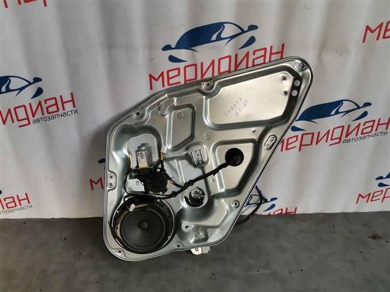 Стеклоподъемник электрический задний правый Hyundai Sonata V(NF) 2010 (б/у)