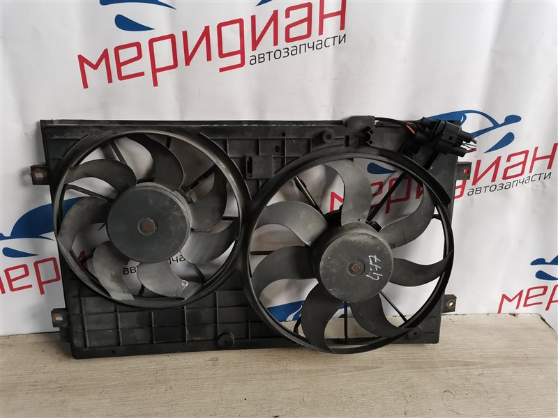 Вентилятор радиатора Skoda Octavia A5 2007 (б/у)