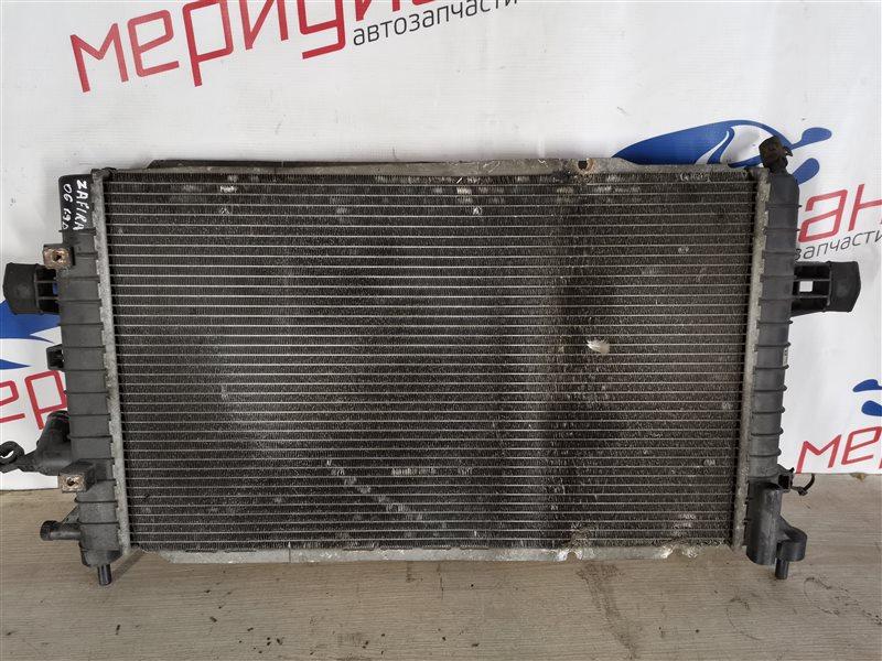 Радиатор основной Opel Zafira B 2006 (б/у)