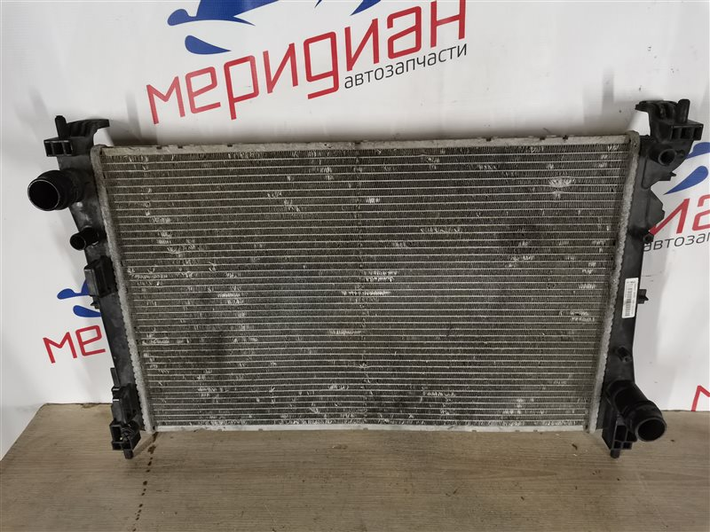 Радиатор основной Fiat Doblo Nuovo 2010 (б/у)