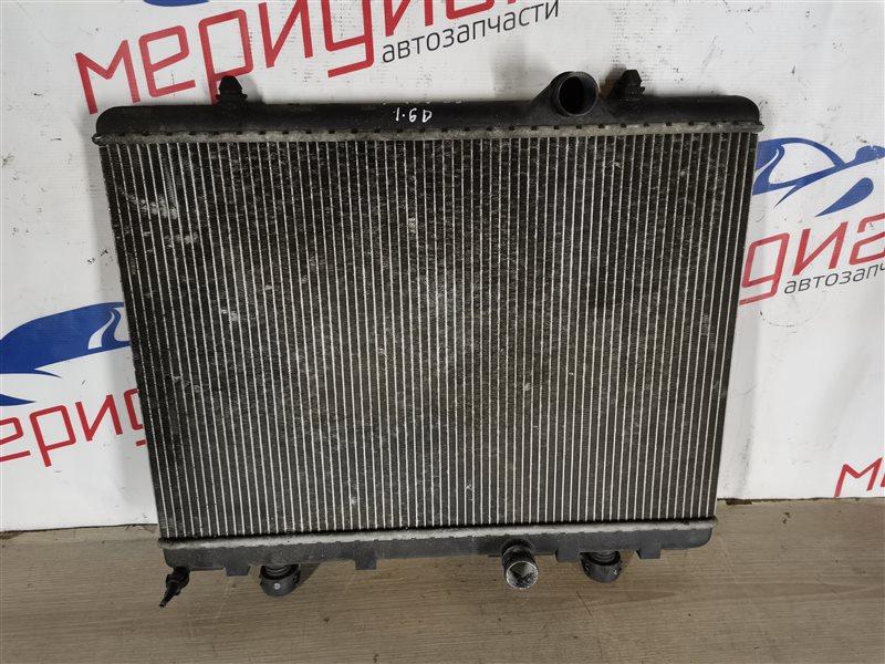 Радиатор основной Peugeot 407 2006 (б/у)