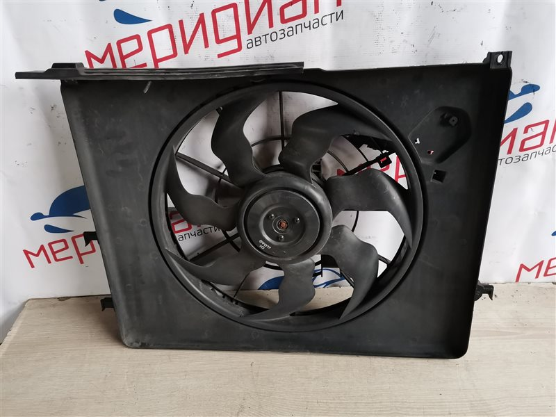 Вентилятор радиатора Hyundai Sonata V(NF) 2010 (б/у)