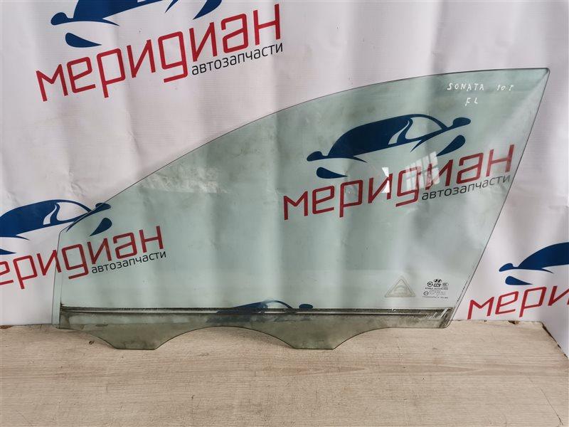 Стекло двери передней левой Hyundai Sonata V(NF) 2010 (б/у)