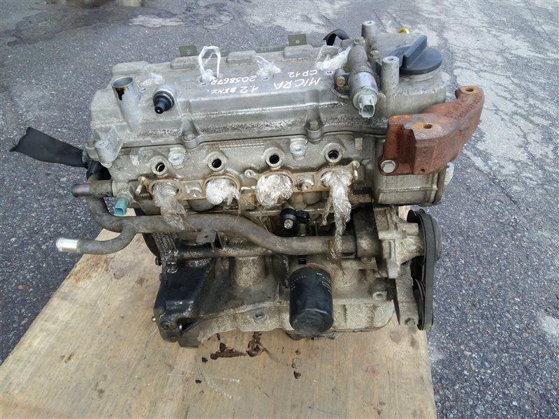 Двигатель cr12 Nissan Micra K12E 2005 (б/у)