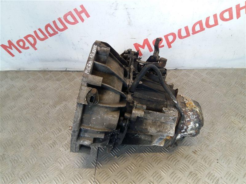 Мкпп (механическая коробка переключения передач) Nissan Micra K12E 2005 (б/у)