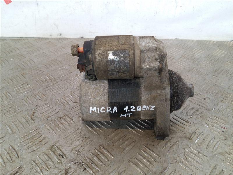 Стартер Nissan Micra K12E 1.2 2005 (б/у)