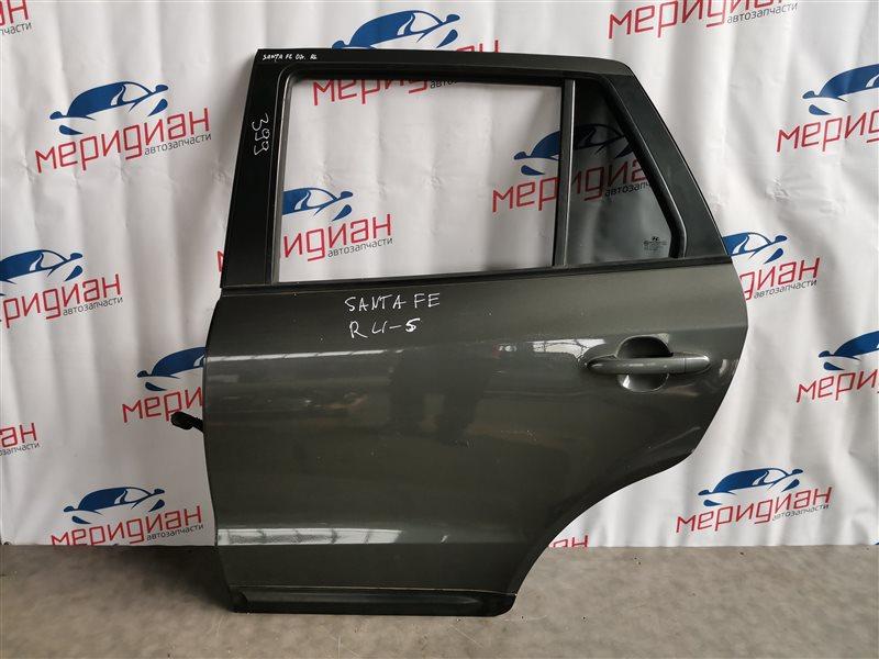 Дверь задняя левая Hyundai Santa Fe CM 2007 (б/у)