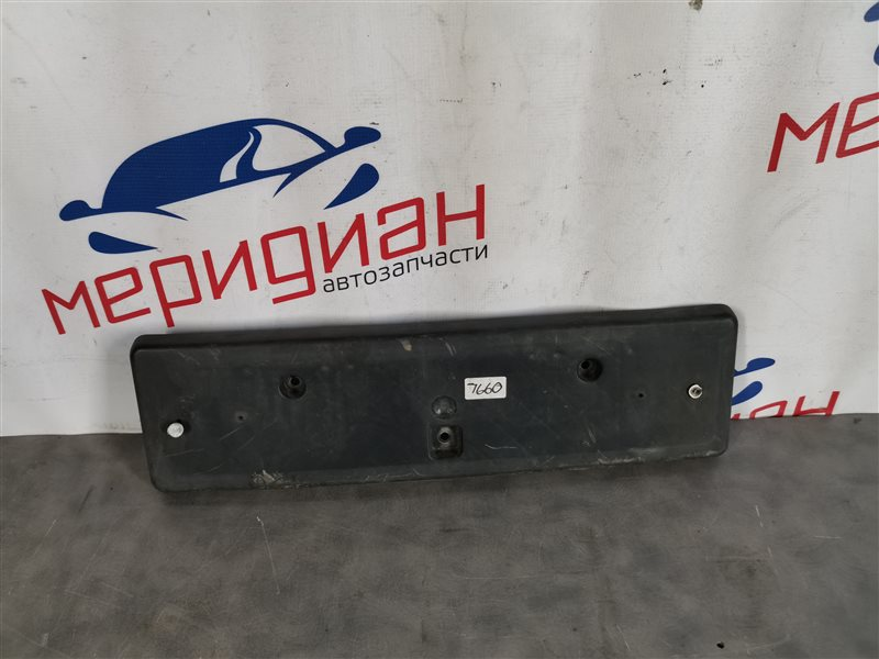 Накладка переднего бампера под номер Jeep Grand Cherokee WH/WK 2006 (б/у)