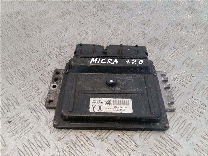 Блок управления двигателем Nissan Micra K12E 2005 (б/у)
