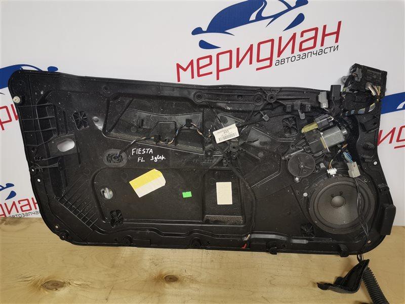 Стеклоподъемник электрический передний левый Ford Fiesta MK6 2014 (б/у)