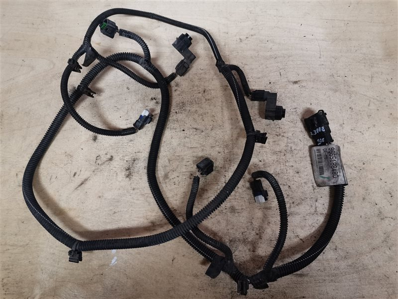 Проводка (коса) задних парктроников Peugeot 3008 2012 (б/у)