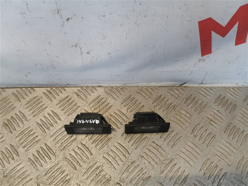 Комплект фонарей подсветки номера Nissan Qashqai J10 2008 (б/у)