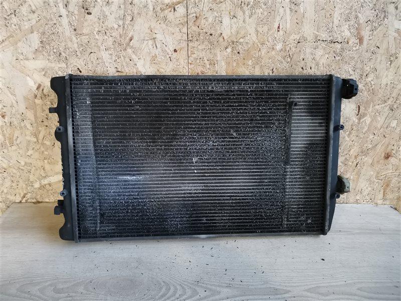 Радиатор основной Volkswagen Polo IV 2003 (б/у)