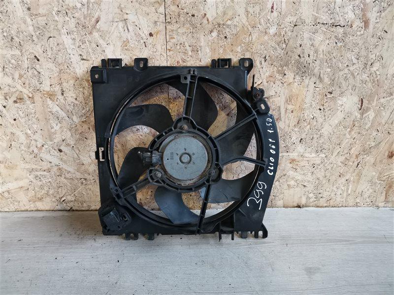 Вентилятор радиатора Renault Clio III 2010 (б/у)