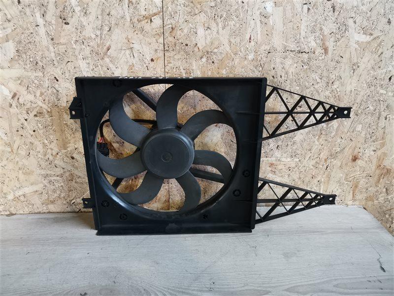 Вентилятор радиатора Skoda Fabia 2007 (б/у)