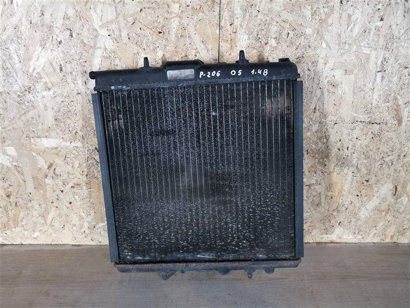 Радиатор основной Peugeot 206 2005 (б/у)