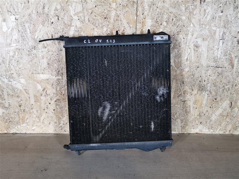 Радиатор основной Citroen C2 2005 (б/у)