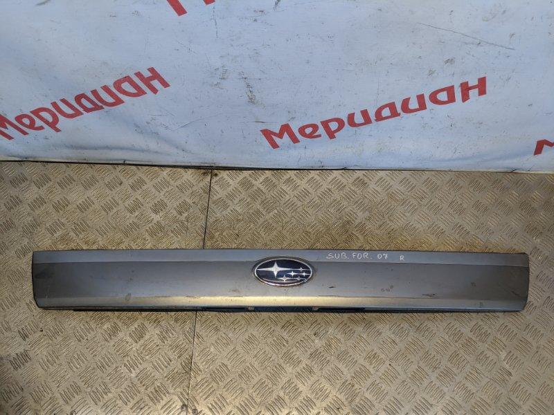Накладка двери багажника Subaru Forester S11 2007 (б/у)