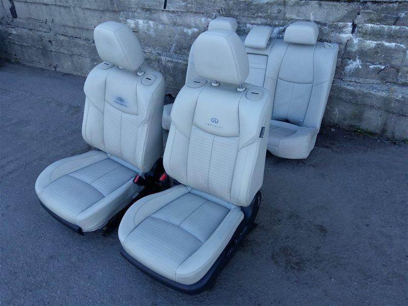 Комплект сидений Infiniti M/q70 Y51 V9X 2011 (б/у)