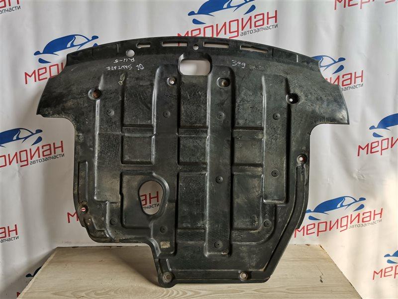 Защита двигателя Hyundai Santa Fe CM 2006 (б/у)