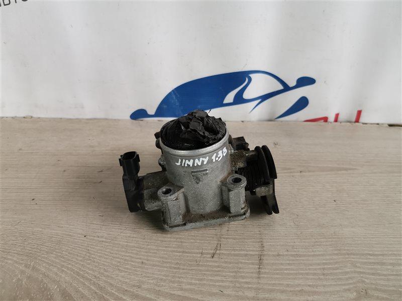 Заслонка дроссельная механическая Suzuki Jimny FJ 2004 (б/у)