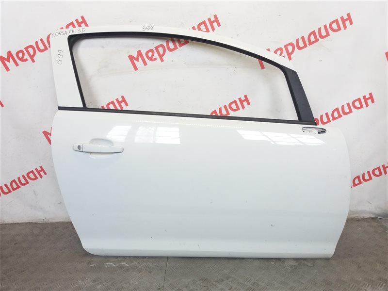 Дверь передняя правая Opel Corsa D 2011 (б/у)