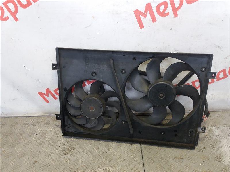 Вентилятор радиатора Skoda Fabia 1.2 2006 (б/у)