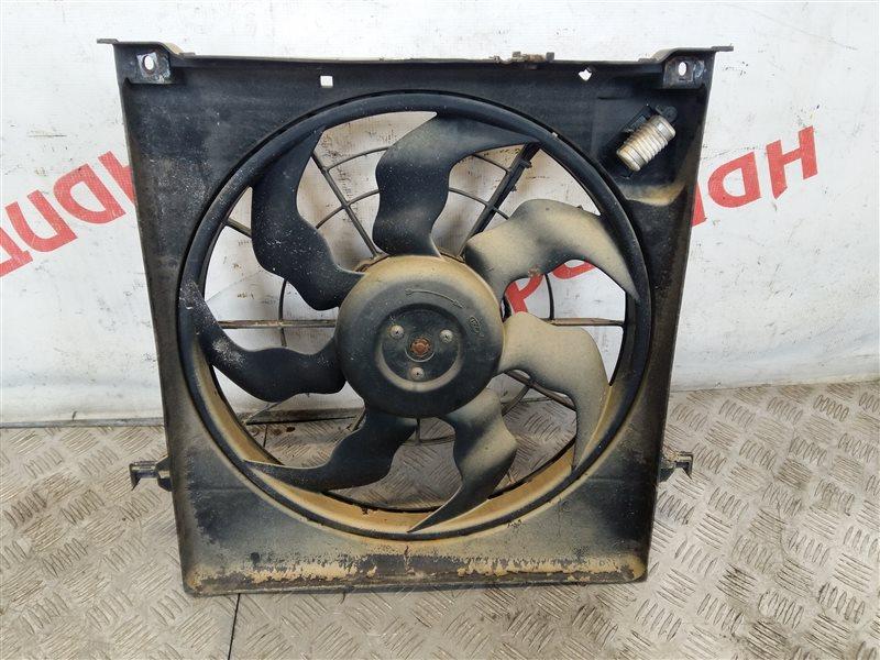 Вентилятор радиатора Kia Ceed 2011 (б/у)