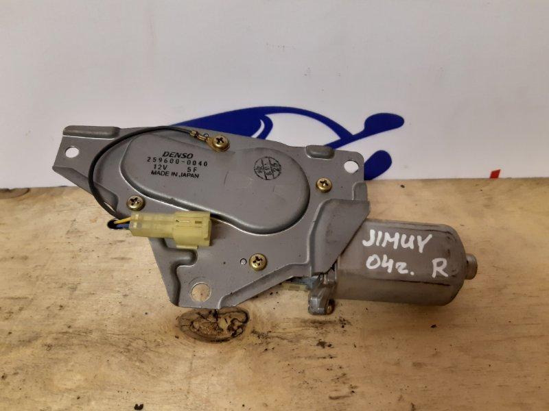 Моторчик стеклоочистителя задний Suzuki Jimny FJ 2004 (б/у)