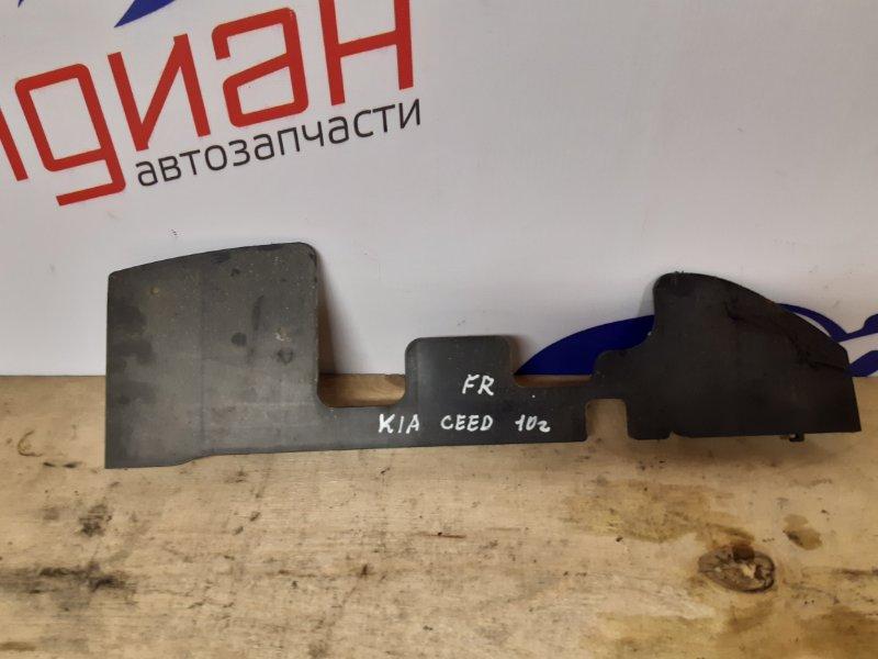 Пыльник радиатора правый Kia Ceed 2011 (б/у)