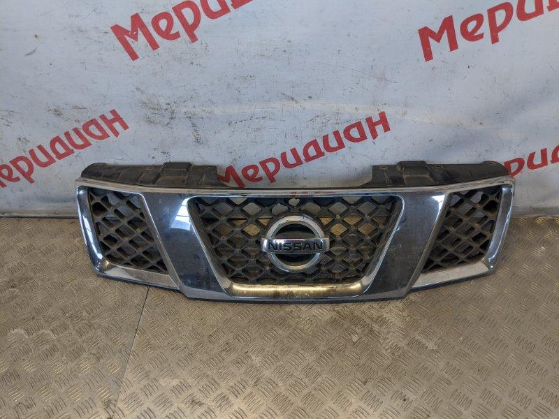 Решетка радиатора Nissan Navara D40 2007 (б/у)