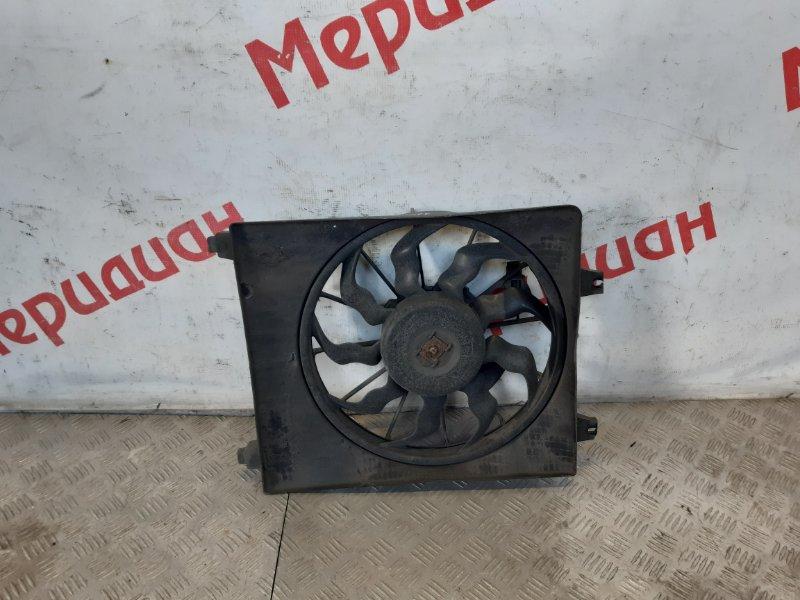 Вентилятор радиатора кондиционера Hyundai Santa Fe CM 2006 (б/у)