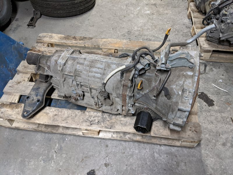Акпп (автоматическая коробка переключения передач) Subaru Forester S11 2006 (б/у)