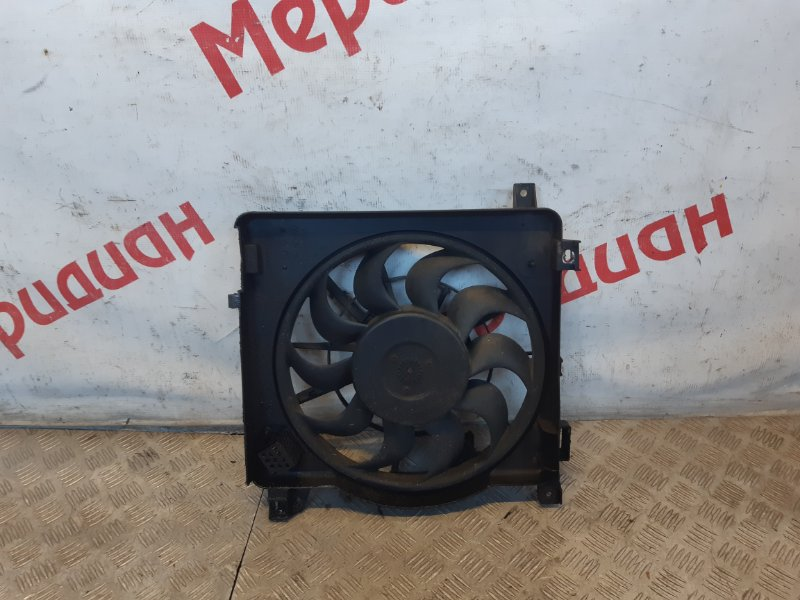 Вентилятор радиатора Opel Astra H 2008 (б/у)