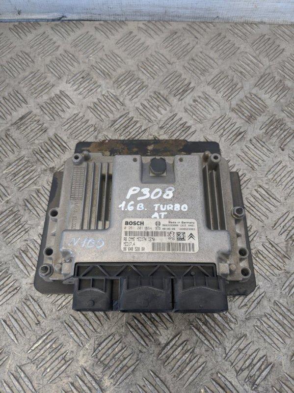 Блок управления двигателем Peugeot 308 2008 (б/у)