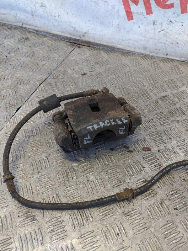 Суппорт тормозной передний левый Chevrolet Tracker 2004 (б/у)