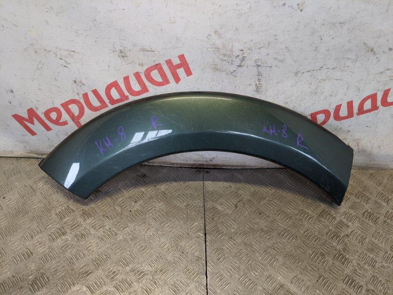 Накладка заднего крыла правого Mitsubishi Pajero Sport KH 2013 (б/у)