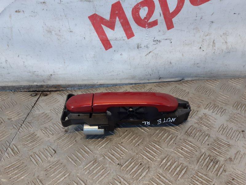 Ручка двери задней наружная левая Nissan Note E11 2011 (б/у)