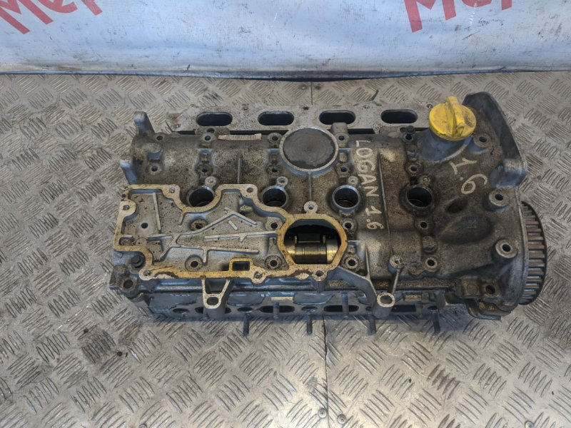 Головка блока цилиндров Renault Logan 1.6 2005 (б/у)