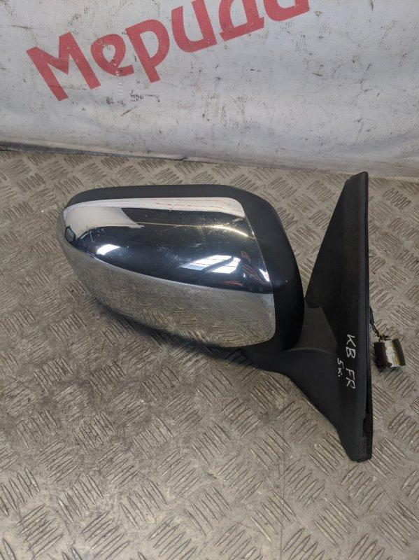 Зеркало правое электрическое Mitsubishi L200 KB 2009 (б/у)
