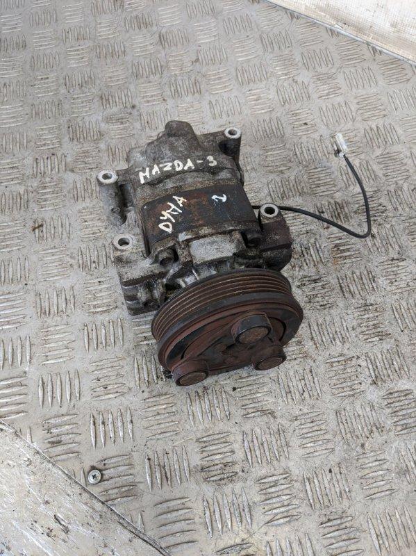 Компрессор кондиционера Mazda 3 BK 2007 (б/у)