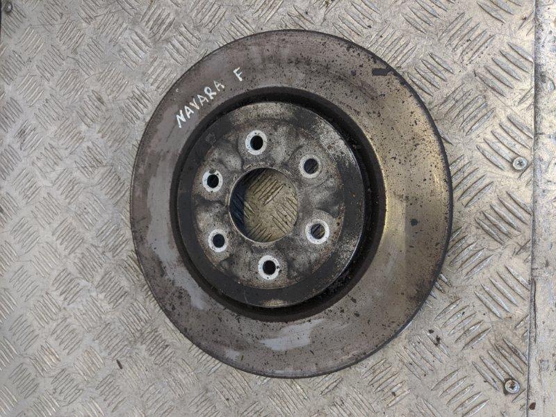 Диск тормозной передний вентилируемый Nissan Navara D40 2007 (б/у)