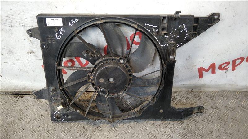 Вентилятор радиатора Nissan Almera G15 1.6 2015 (б/у)